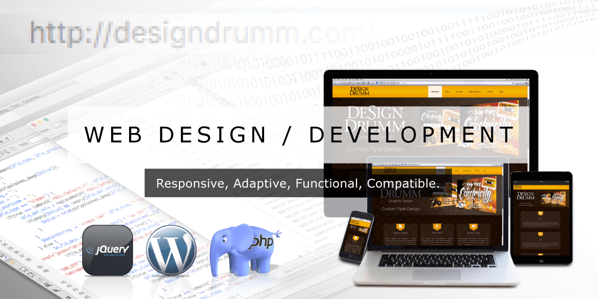 Web Design & Development by Design Drumm