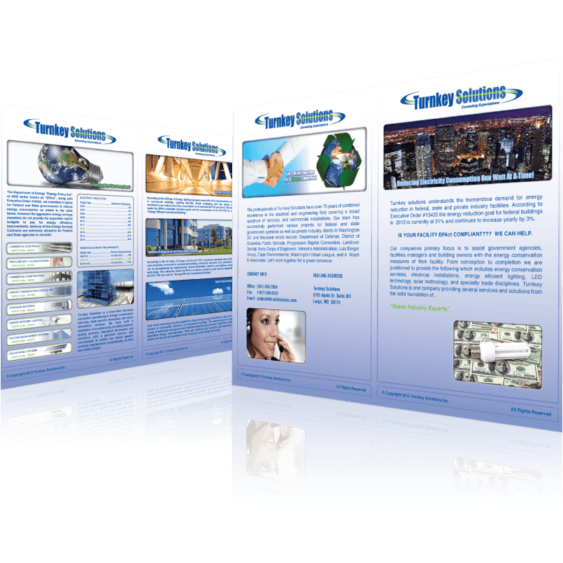 Turnkey Solutions Inc. - Brochure Design